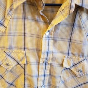 Ely Cattleman pearl snap short sleeve